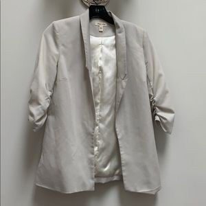 Silence and Noise beige blazer jacket